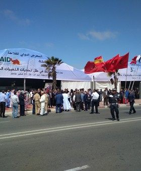 HTCC  AT THE 3 AGRICULTURAL EXHIBITION IN DAKHLA
