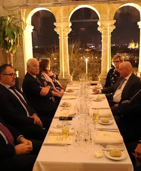EBCAM – HTCC Dinner at Fisherman's Bastion Restaurant